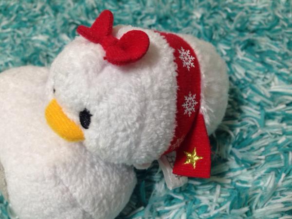 即決◆ 完売 デイジー Tsum ツムツム クリスマス ぬいぐるみS ディズニーストア Disney ディズニーグッズの画像