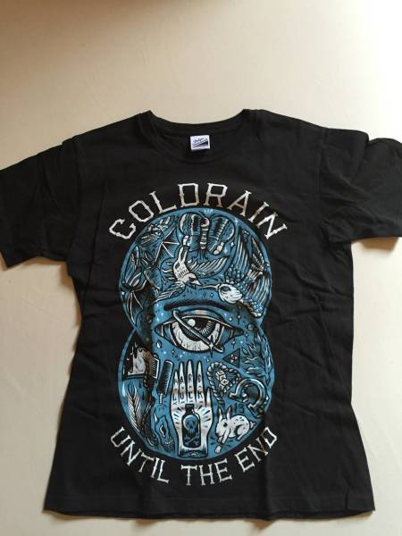 coldrain UNTIL THE END Tシャツ  ライブグッズの画像