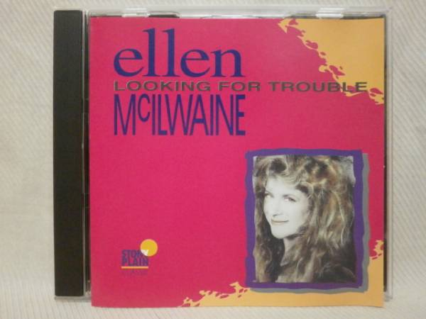 ★ELLEN McILWAINE LOOKING FOR TROUBLE★エレン マキルウェイン_画像1