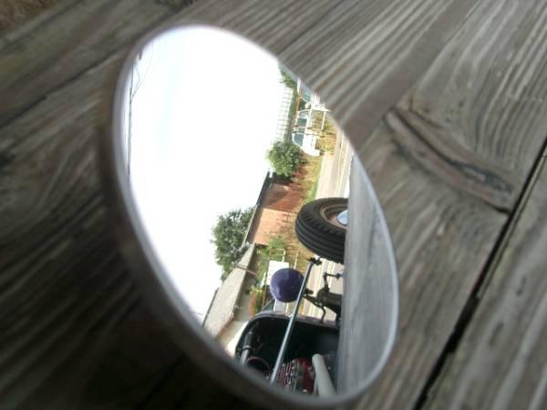 ●HOTROD 4インチ ピープミラー ホットロッド KUSTOM カスタム●_画像2