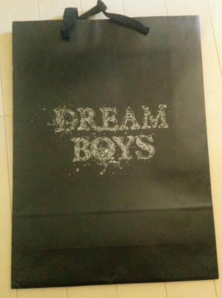 DreamBoys公式紙袋未使用亀梨玉森KAT-TUNドリボグッズキスマイ