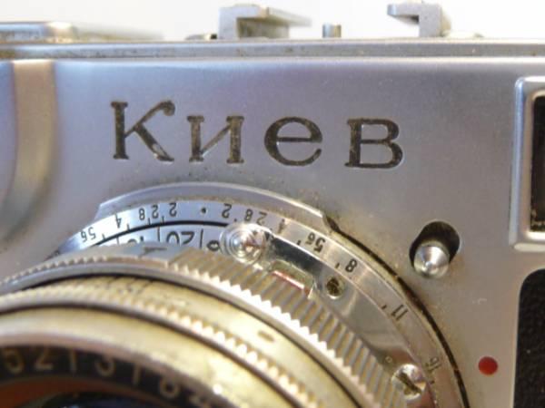 珍品 KIEV-2 キエフー Contax #525220コンタックスSONNAR #493_画像2