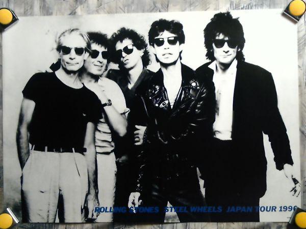 k3【ポスター/B-2】Rolling Stones-ローリング ストーンズ/'90