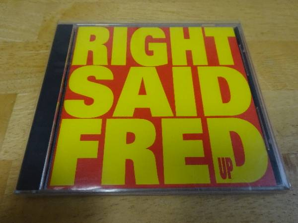 CD RIGHT SAID FRED UP(全米No1ヒット I'm Too Sexy 収録)