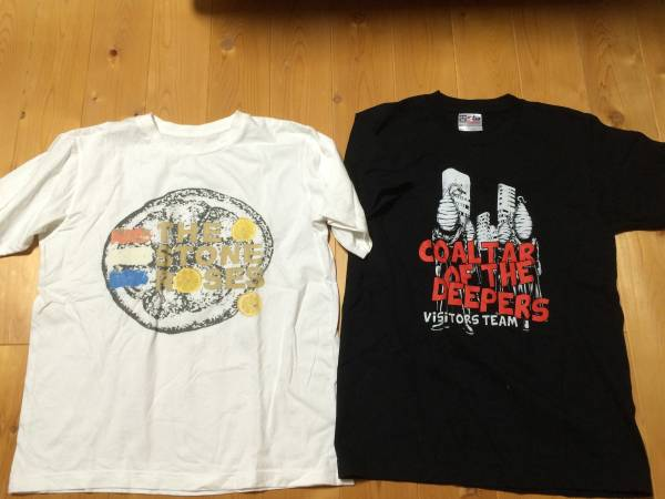 THE STONE ROSES / COALTER OF THE DEEPERS Tシャツ 2枚セット