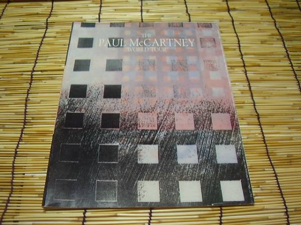 ★THE PAUL McCARTNEY WORLD TOUR★ポールマッカートニー★洋書