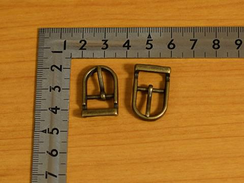 美錠(バックル) 12mm アンティークゴールド 尾錠 10個セット_画像1