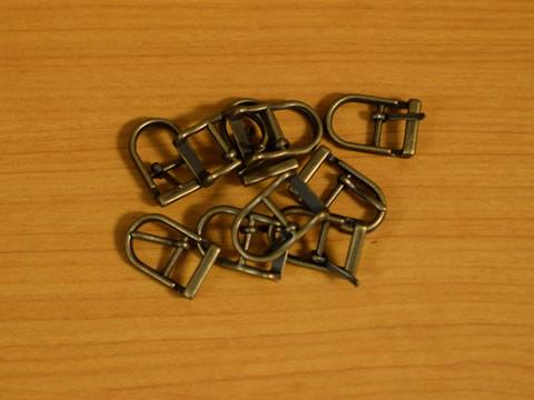 美錠(バックル) 12mm アンティークゴールド 尾錠 10個セット_画像2