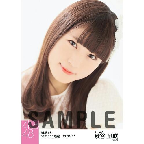 AKB48 2015年11月度 netshop限定個別生写真5枚セット 渋谷凪咲 ライブ・総選挙グッズの画像