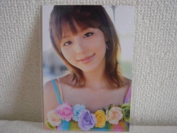 平野綾☆写真集『Girlfriend』ローソン限定特典☆生写真☆非売品
