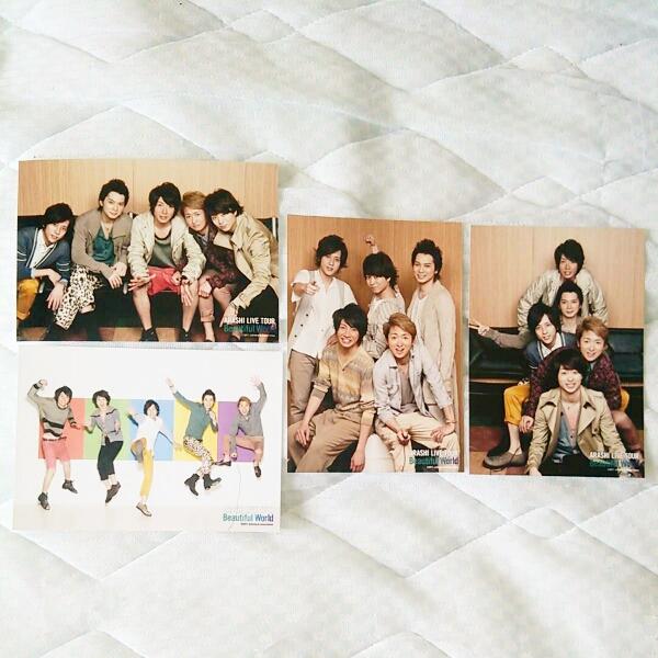 美品嵐★公式写真コンサート限定フォトセット4枚Beautiful World