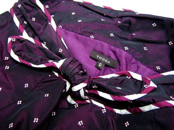 TOCCA トッカ 刺繍デザインのふんわりプリーツスカートリボン!_画像3