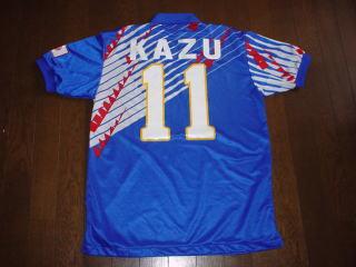 93‐94年日本代表ドーハ時代 カズ選手用 未使用美品  KAZU ヴィンテージ