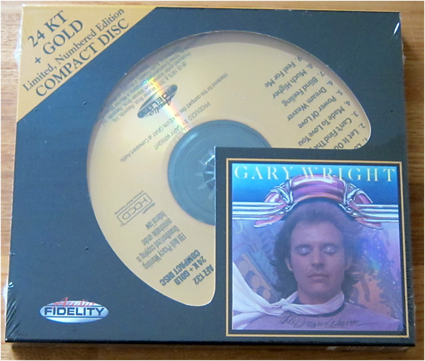 Height Sound Quality 24k Gold Cd Gary Wright Dream Weaver Real