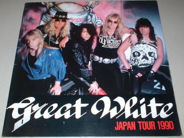 パンフ GREAT WHITE [JAPAN TOUR '90] グレート・ホワイト