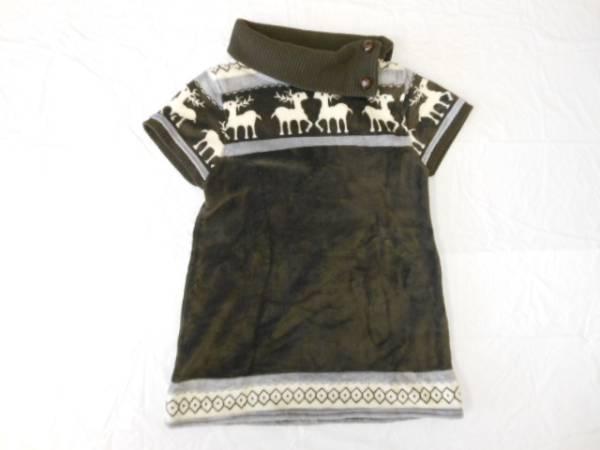 【美品】◆ TPY collection ◆ 半袖シャツ ブラウン M
