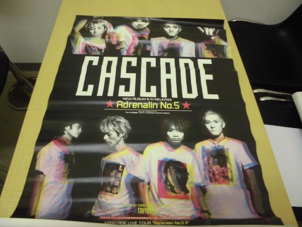 <ak-0179>CASCADE☆NEWALBUMAdrenalinNo5ポスター