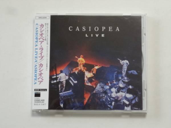 神保彰 直筆サイン 入り CD/CASIOPEA LIVE★お任せ発送 送料無料