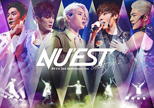 NU'EST 2nd Anniversary Live SHOWTIME2 DVD 新品即決 ライブグッズの画像