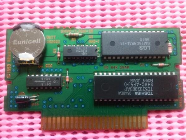 SFC 電池新品 スーパーファイヤープロレスリング X   pon_0_画像2