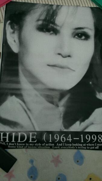 新品 未使用X JAPAN hide 超特大ポスター 73センチ×102センチ