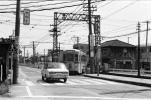 ◆【即決写真】都電 7512  早稲田行1972.4 荒川車庫前/335-16