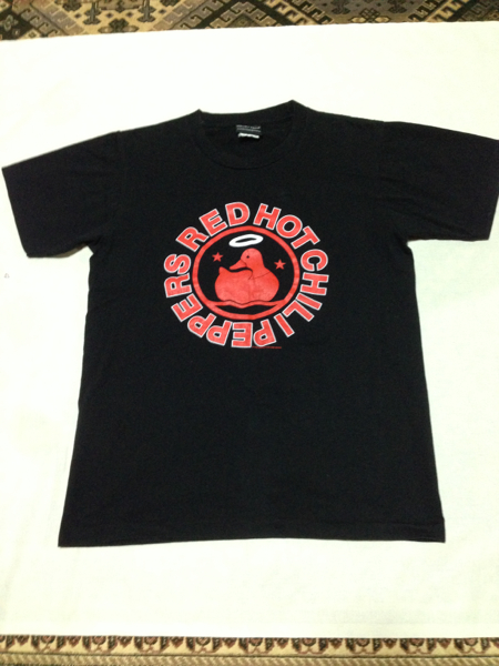 送料無料 レッチリ RED HOT CHILI PEPERS Tシャツ Sサイズ