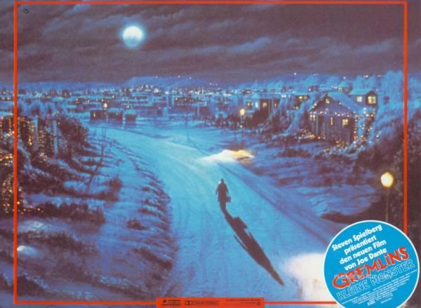 1984年 映画 グレムリン ドイツ語 ロビーカード3枚