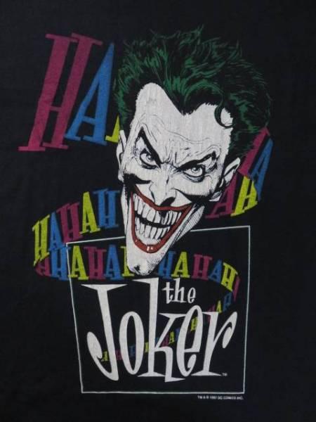 新品 1987年 Joker ジョーカー Tシャツ BATMAN DeadStock