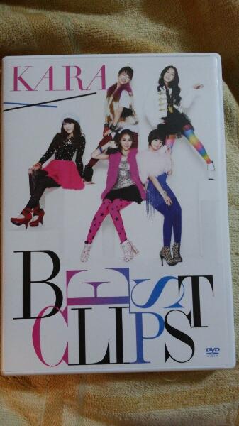 KARA/KARA BEST CLIPS DVD2枚組 送料150切手可