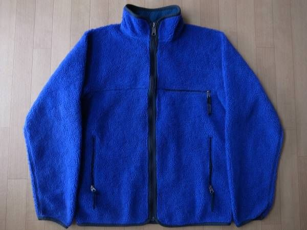 1993年 USA製 パタゴニア レトロカーディガン 雪なしタグ コバルト ブルーグラス フリース ジャケット M PATAGONIA Retro Cardigan レトロ/_画像1