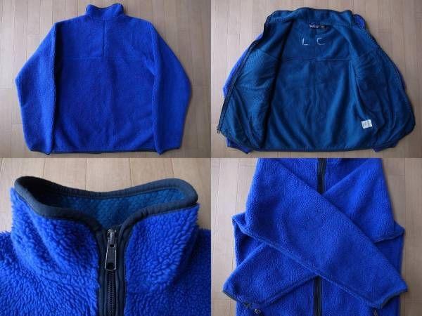 1993年 USA製 パタゴニア レトロカーディガン 雪なしタグ コバルト ブルーグラス フリース ジャケット M PATAGONIA Retro Cardigan レトロ/_画像2