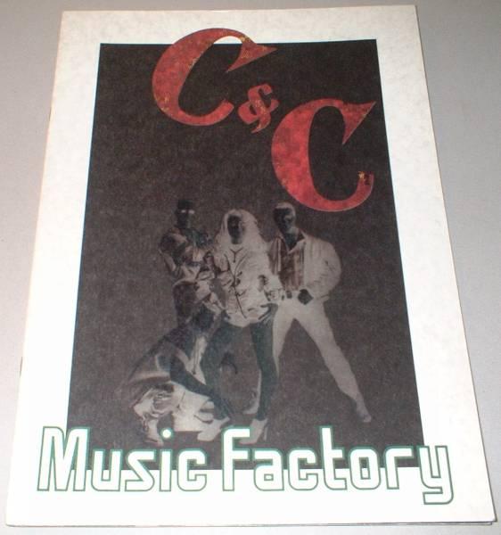 パンフ C&C Music Factory [JAPAN TOUR '91]