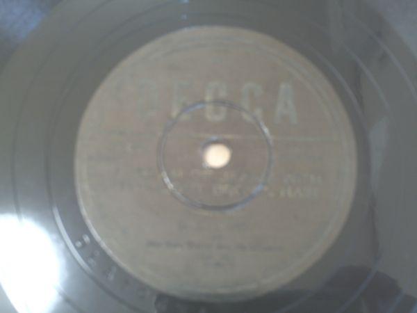 SP盤【ビング・クロスビー/金髪のジェニー】DECCAレコード_画像1