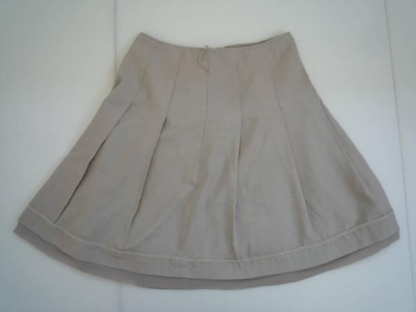 【お買い得!】 ◆ フレアスカート ◆ グレー 膝丈 61-89 プリーツ_画像1