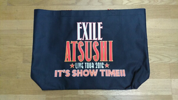 ATSUSHI / It's show Time!!/ 新品未使用 / エコバッグ大