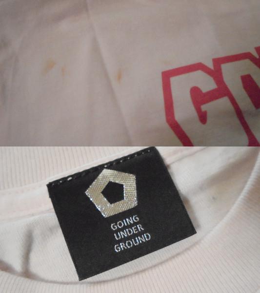 GOING UNDER GROUND 半袖Tシャツ ゴーイングアンダーグラウンド_画像3