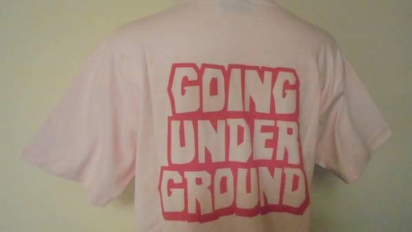 GOING UNDER GROUND 半袖Tシャツ ゴーイングアンダーグラウンド_画像2