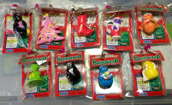 SEGA バーバパパ クリスマスキーチェーン 全9種 グッズの画像