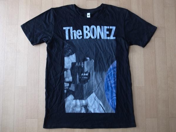 The BONEZ Astro Tour 2014 Tシャツ S ブラック 黒 ザ ボーンズ アストロノート Astronaut JESSE ジェシー RIZE 雷図 Pay money To my Pain