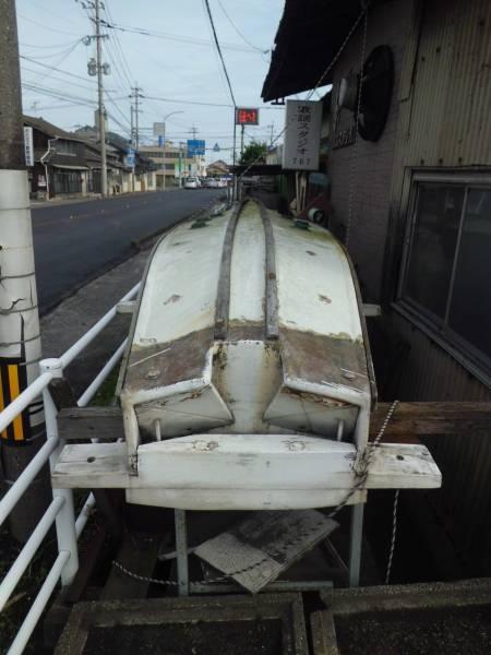 和船 木造ボート 長さ5m 定置網 漁 釣り 福岡県行橋市_画像2