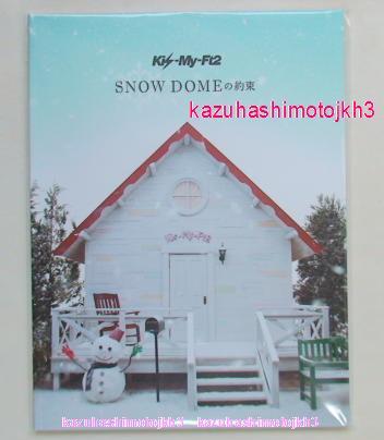 ☆パンフレット SNOW DOME Kis-My-Ft2 2013 グッズ g