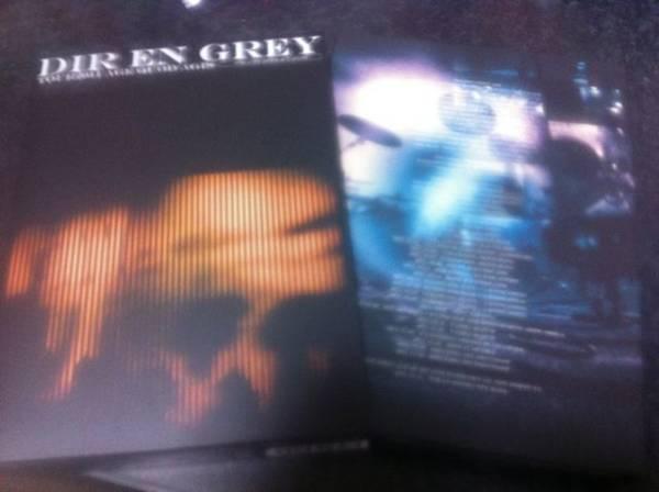 即決 初回 DIR EN GREY DVD「Tour 2011 AGE QUOD AGIS」Vol1 ライブグッズの画像