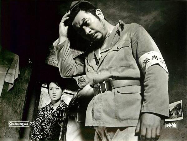 p19227勝新太郎田村高廣野川由美子『兵隊やくざ殴り込み』