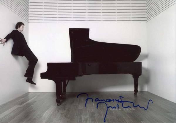 Francesco Tristano フランチェスコ・トリスターノ サイン