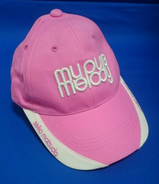 松田聖子my pure melodyコンサートツアー2008キャップ帽子ピンク