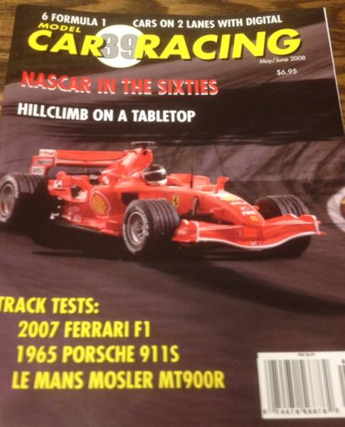 ●雑誌//MODEL CAR RACING vol.39★FERRARI F1 2007_画像1
