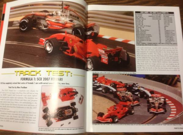 ●雑誌//MODEL CAR RACING vol.39★FERRARI F1 2007_画像2