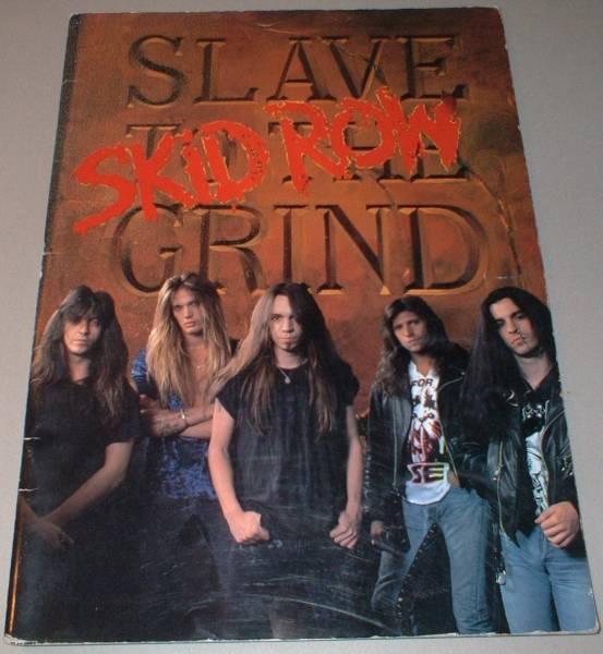 スキッド・ロウ パンフ[IN JAPAN '91] SKID ROW