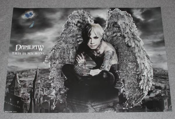 ● 非売品ポスター DAMIJAW/ka-yu[THIS IS MY WING]Janne Da Arc